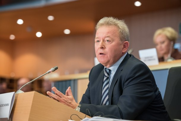 Janusz Wojciechowski, the Polish candidate for the agrilculture portfolio.