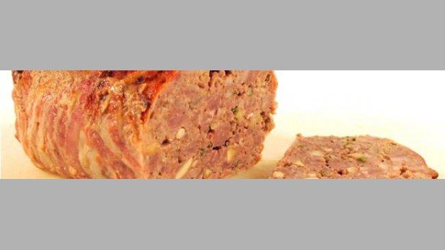 Terrina de carn picada de porc
