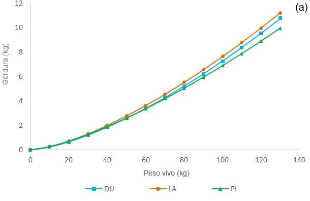 Crecimiento alométrico del tejido graso